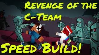getlinkyoutube.com-Revenge of The C-Team Speed Build: A két torony.
