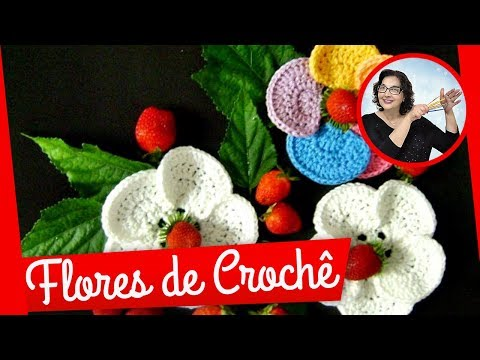 CROCHE AULA FLOR MODELO 036 PARTE 2/2 FIM