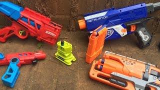 getlinkyoutube.com-Nerf Guns Vs. BOOMco Guns, a Modders Point of View