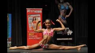 getlinkyoutube.com-13 year old Female Teen Fitness Model - Madison Carter