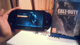getlinkyoutube.com-Call of duty black ops: Declassified Ps Vita Slim Gameplay/Unboxing