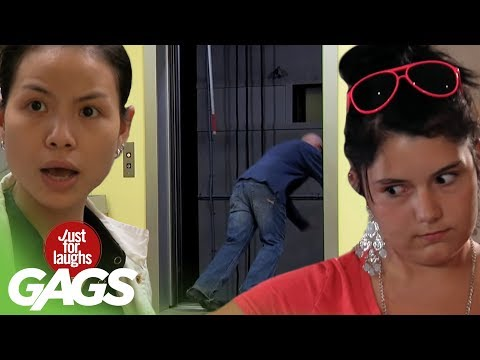 Best Of Just For Laughs Gags - Top Elevator Pranks