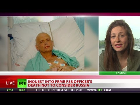 Inquest over KGB agent Litvinenko's death not to consider Russia