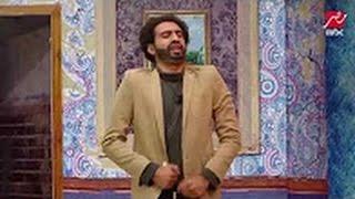 مسخره تقليد كوميدي لخناقة رفاعي وعصام النمر فى الأسطورة على طريقة نجوم #مسرح مصر  علي ربيع 2017