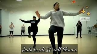 Daru BADNAM KR di best girl bhangra dance WhatsApp status