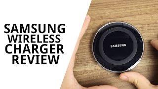 getlinkyoutube.com-Încărcător wireless Samsung pentru Galaxy S6 Review!