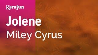getlinkyoutube.com-Karaoke Jolene - Miley Cyrus *
