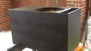 getlinkyoutube.com-PEARLAND CUSTOMZ : Orion Hcca 15 Subwoofer Enclosure Build #4
