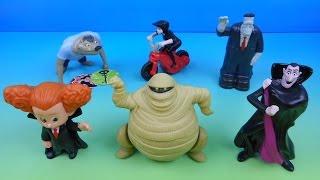 getlinkyoutube.com-2015 HOTEL TRANSYLVANIA 2 SET OF 6 McDONALD'S HAPPY MEAL KIDS MOVIE TOYS VIDEO REVIEW