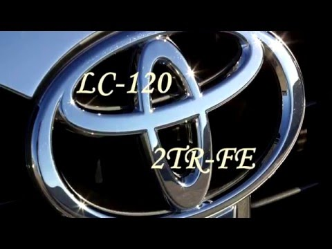 Установка веерных форсунок омывателей лобового стекла Toyota LC 120