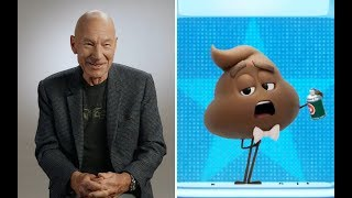 Sir Patrick Stewart on how he brought gravitas to the poop emoji