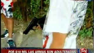 getlinkyoutube.com-Chilevisión - Te Ve de Verdad - Pistolas a fogueo  nueva moda entre pandilleros