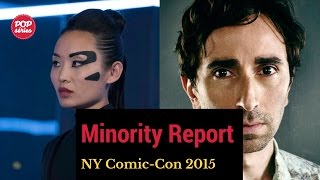 NYCC 2015: Li Jun Li e Daniel London de Minority Report