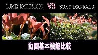 getlinkyoutube.com-LUMIX DMC-FZ1000 VS SONY DSC-RX10 動画基本機能比較(1)