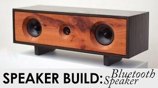 getlinkyoutube.com-DIY Bluetooth Speaker Build | BUILD PLANS | Reclaimed Redwood Speaker