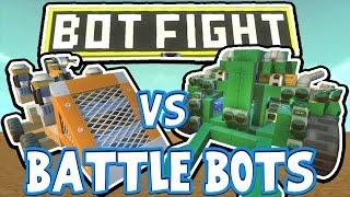 getlinkyoutube.com-Scrap Mechanic - BATTLE BOTS CHALLENGE! VS AshDubh - [#42]   Gameplay