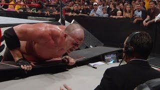 Kane attacks Michael Cole & Jerry Lawler: Raw, July 7, 2008