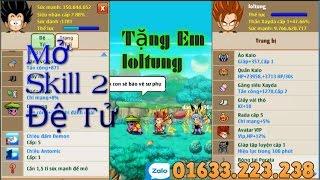 getlinkyoutube.com-Ngoc Rong Online NLC   Mở Skill 2 Đệ Tử