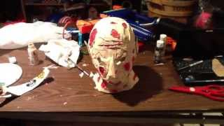 getlinkyoutube.com-How To Make A Freddy Krueger Mask For ONLY $10