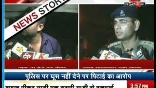 getlinkyoutube.com-UP: Police beats Army captain for not giving bribe in Faizabad