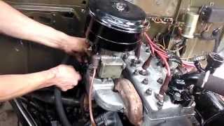 getlinkyoutube.com-ГАЗ 69 Запуск нового двигателя!