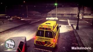 getlinkyoutube.com-GTA4: [Paramedic Mod]: EMS - 17-146 & 25-111