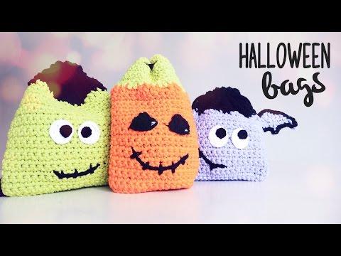 How to crochet HALLOWEEN BAGS ♥ CROCHET LOVERS