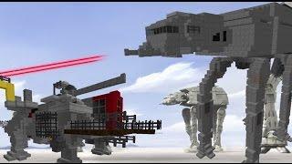 "getlinkyoutube.com-Star Wars Rebels ""AT-TE vs AT-AT"" in Minecraft"