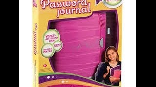 Password Journal ~ Skit