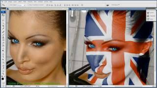 getlinkyoutube.com-Фотошоп урок Как накладывать рисунок на тело