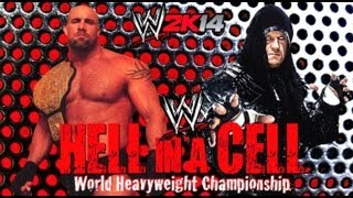 getlinkyoutube.com-WWE 2K14 World Heavyweight Championship Goldberg VS Undertaker
