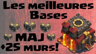 getlinkyoutube.com-Meilleures bases GDC Farm Rush HDV10 275 remparts - Mise a jour Clash of clans