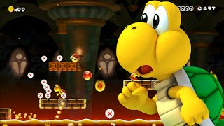 Zagrajmy w Super Mario Maker odc. 3 Mordercze levele!