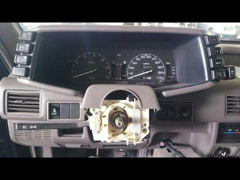 Isuzu Rodeo, ремонт подрулевого переключателя. (Опель Фронтера А).