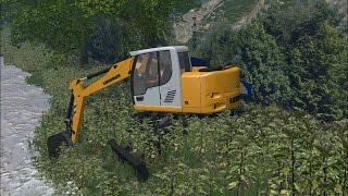 getlinkyoutube.com-Farming Simulator 2015 - Liebherr R914 Compact Excavator