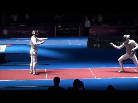 World Fencing Championships 2015 - Foil last 32 to last 8