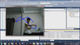 Hand Tracking (Kinect with OpenCV & OpenNI)