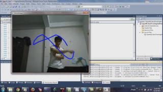 getlinkyoutube.com-Hand Tracking (Kinect with OpenCV & OpenNI)