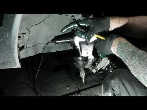 Opel Antara  замена пыльника шруса и ступицы .