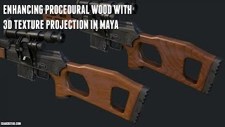getlinkyoutube.com-Enhancing Quixel Wood with 3D Texture Projection in Maya