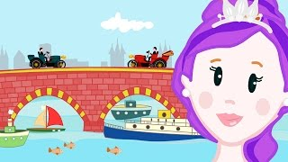 getlinkyoutube.com-LONDON BRIDGE IS FALLING DOWN Nursery Rhyme with Lyrics