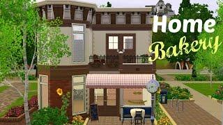 getlinkyoutube.com-Sims 3 House Building - Home Bakery (Starter Home)
