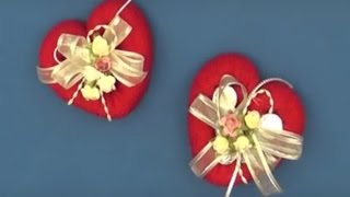 getlinkyoutube.com-CORAZÓN DE TOALLA DIY