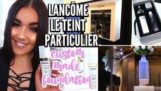 Lancôme Le Teint Particulier Custom Foundation | Review, Experience, Demo & Vlog ♡ Deanna Borocz
