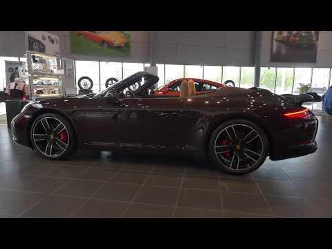 Обзор Porsche 911Cabrio 2017
