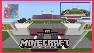 getlinkyoutube.com-[AZD]-[รีวิว]สนามฟุตบอลชัยนาท เอฟซีใน Minecraft PE เขาพลองสเตเดี้ยมในมายคราฟพีอี