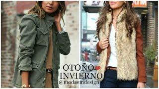 getlinkyoutube.com-Tendencias Otoño Invierno 2016 2017 Outfits de Moda ♥ EMdesign