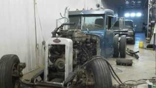getlinkyoutube.com-Semi Truck Rat Rod Build