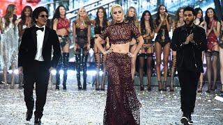 getlinkyoutube.com-Lady Gaga STEALS the 2016 Victoria's Secret Fashion Show, Gets Her Wings