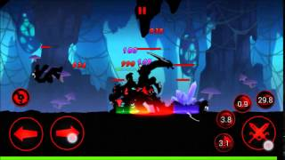 getlinkyoutube.com-League of Stickman Samurai  Athy and Monkey Gameplay
